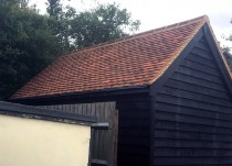 Workshop roof in Hellions Bumpstead